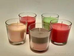 Shot Glass Votive Candles
