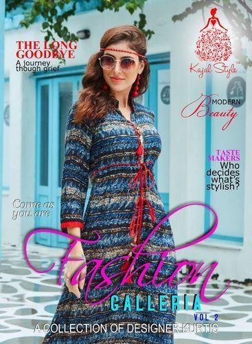 37fc11e60d Rayon Long Designer Kurtis, Rs 475 /piece, Khushbu Textile | ID ...