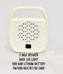 Apple Multimedia Bluetooth Speaker With LED Light