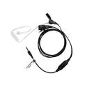 Hands Free Clear Tube Earpieces