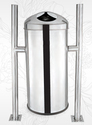 Stainless Steel Hanging Open Push Bin