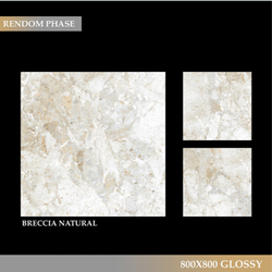 Marble Breccia Natural Tiles