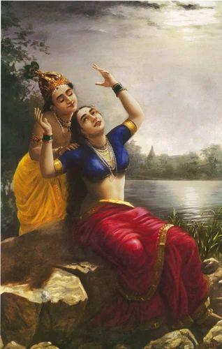 of raja ravi varmas paintings