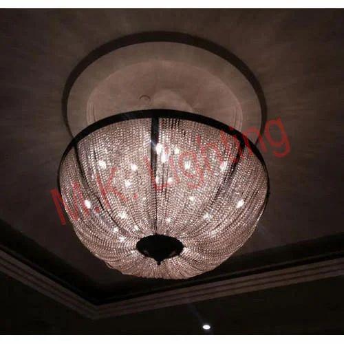 Glass M K Lighting Decorative Bowl Type Chandelier