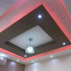 Decorative Gypsum False Ceiling