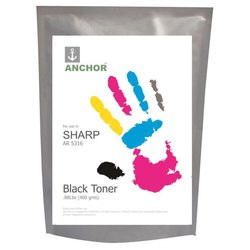 Anchor Sharp AR 5316 400g Black Single Toner