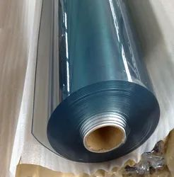 yellow Transparent 1.38 Kg/Cm3 Pvc Transparent Flexible roll, Thickness: 1 To 2 Mm