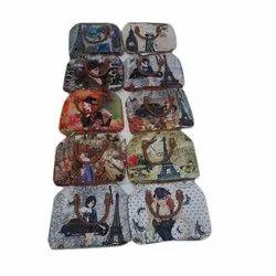 Rexine Printed Italian Ladies Bag