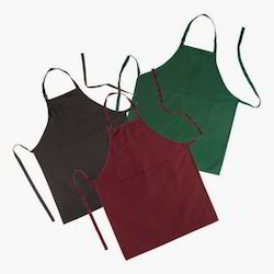 Plain Kitchen Linen Aprons, Size: 60x80cm