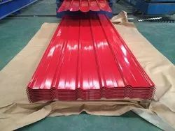 Red PPGL Roofing Sheet