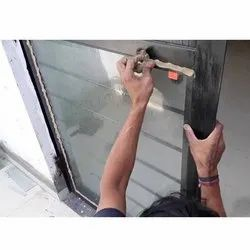 Stainless Steel Glass Fitting Work