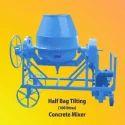 Mild Steel Tilting Concrete Mixer, Capacity: 100 L