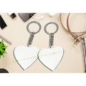Promotional Wooden Heart Shaped Key Chain