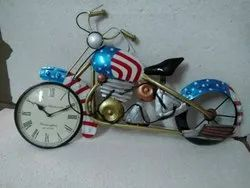 Home Decor Bike Clock Wall Hanging