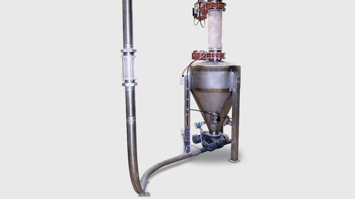 Stainless Steel Semi-Automatic Lean Phase Vacuum Conveying Systems, Capacity: 10000 kg