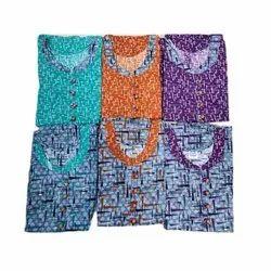 Cotton Casual Wear Designer Nightgowns