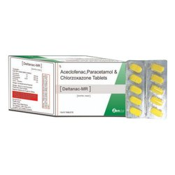 Deltanac-MR Tablets, Packaging Size: 10x10, Prescription