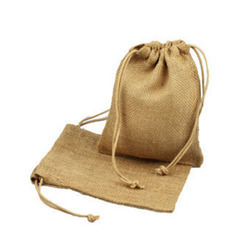 Small Jute Pouch Bag