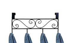 Wrought Iron Solid cupboard Door Hanger