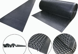Anti Slip Mat - Long Length Semi-Circle (Bubble Mat)