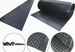 Long Length Anti Skid Semi-Circle Floor Mat