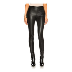 Leather Women Legging