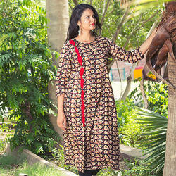 Jaipuri Printed Cotton Kurti