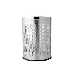 Stainless Steel Perforated Dust Bin