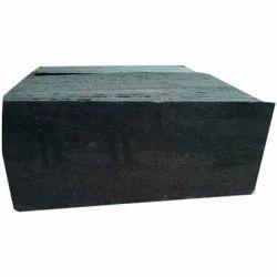 Plain Black Granite Slabs, 15-20 Mm