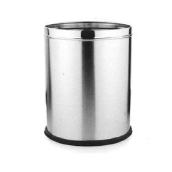 Stainless Steel Solid Dustbin