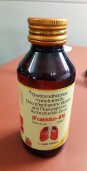 Franklor-DX Cough Syrup, 100 ml