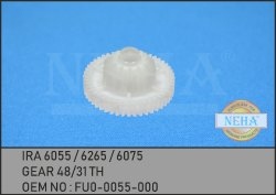 IRA 6055 / 6265 / 6075  GEAR 48 / 31 TH  OEM NO : FU0-0055-000