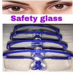 Glass Work Safety Eye Glass, Packaging Type: Standardized