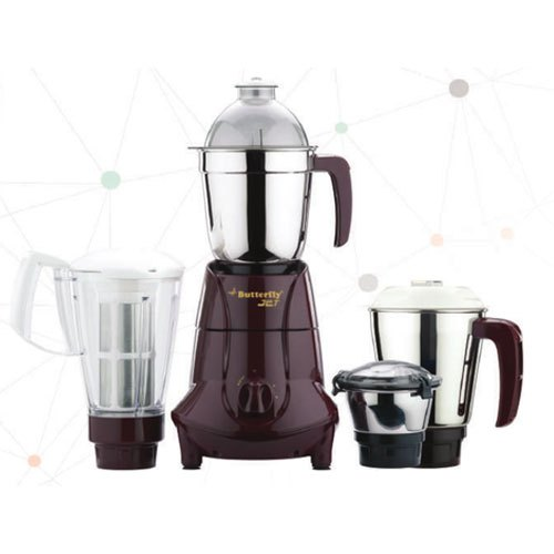 Blender Butterfly Jet 4 Jar Mixer Grinders for Kitchen, 300 W - 500 W