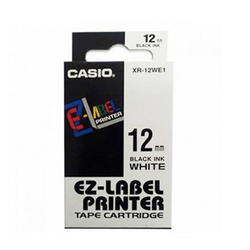 Casio XR-12WE1 Tape