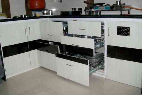 Gentil PVC Kitchen Furniture