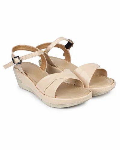 2fbd031b08d Histeria Camel Do Bhai Kim-302-Cream Wedges Sandals