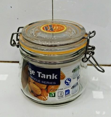Lock Glass Jar