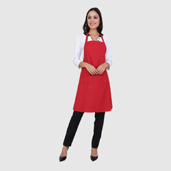 UB-APR-RED-0019 Chef Aprons