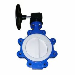 PTFE Sleeved Butterfly Valves