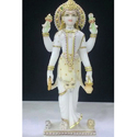 Marble Parwati Statue