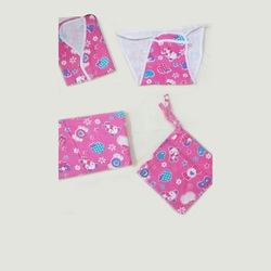 Cotton New Born Baby Pink Dress