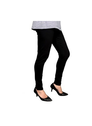 b03696bf60f519 97% Cotton Amps Solid Leggings (Black), Rs 222 /piece, Amps Goods ...