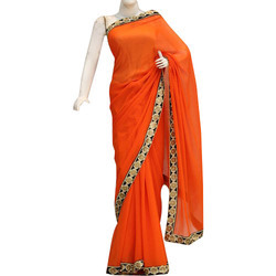 Designer Border Ladies Saree
