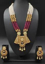 Wedding Necklace Kundan Jewellery