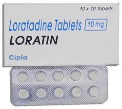 Loratin 10 Mg Tablet