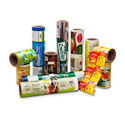 Printed Snacks Packaging Roll