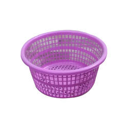 Purple Plastic Basket