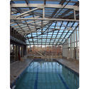 Tensile Membrane Swimming Pool Covering