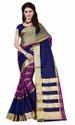 Women Cotton Silk Saree with Linning Shade